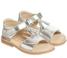 young soles london flo silver sandals