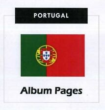 Portugal - CD-Rom Stamp Album 1853- 2015 Album Pages Classic Stamps Illustrated