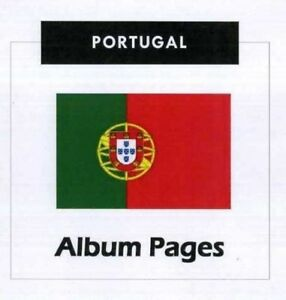 Portugal - CD-Rom Stamp Album 1853- 2015 Album Pages Classic Stamps Illustrated