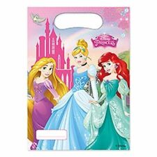 Disney Princess Girls Birthday Partyware Decoration Supplies Balloons Tableware Party Loot Bags X6