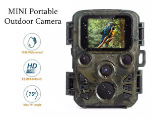 Hunting Camera 16MP 1080P HD Wildlife Night Vision Chasse Cam Wild Photography
