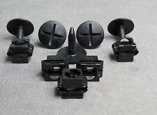 5 Morsetto di fissaggio Protezione motore Vite Clip Set per Audi A4, A6, A8, VW