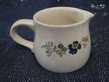 Lovely Purbeck Ceramics Swanage Milk Jug Floral design approx 2½ ins tall