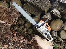"New Whitemoss 22"" 22 Inch Bar 58cc Petrol Professional Chainsaw"