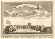 'Vue Est du Cap Corse'. Ghana. Cape Coast Castle in 1727. Smith. SCHLEY 1748