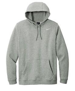 Nike Club Fleece Pullover Hoodie Mens CJ1611 - New 2021