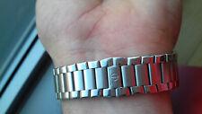 Baume & Mercier Genève Bracelet Acier NOS Montre Horloge Montre Orologio