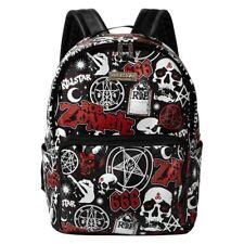 Killstar X Rob Zombie Gothic Punk Rucksack - Spookshow Backpack Schädel Skull