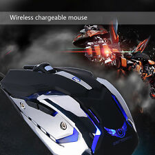2.4G Wireless Optical Adjustable DPI Gaming Mouse Mice w/ LED Light USB Receiver