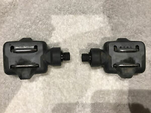 Time ATAC Mountain Bike Composite Clipless Pedals Gray
