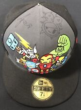 Tokidoki x Marvel New Era Hat Cap Signed and Sketched By Simone Legno!