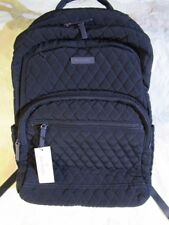 VERA BRADLEY Essential Large Backpack Campus Laptop Backpack CLASSIC NAVY
