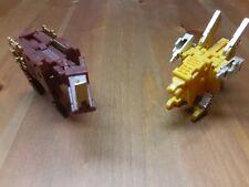 Transformers KFC Masterpiece Cassette's CST-01J Ramhorn & CST-02J Steeljaw