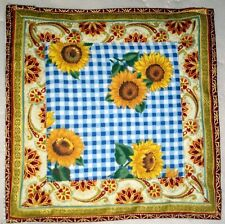 Handmade Quilted Beautiful Table Runner Topper Mat Autumn Stitched 7 x 7