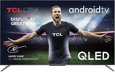 TCL 55C715K 55 inch QLED, 4K UHD HDR 10+ Dolby Vision, Smart Android TV - RRP £6