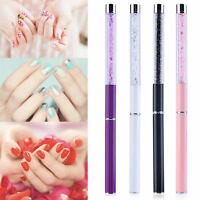 4Colors GEL & Acrylic Nail Art Tips Pen Design Dotting Painting Polish Brush Set