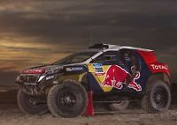 A1 | Dakar Rally Car Poster Art Print 60 x 90cm 180gsm Race Racing Gift #12660