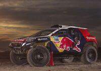 A1 | Dakar Rally Car Poster Art Print 60 x 90cm 180gsm Race Racing Gift #12660