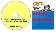 Cisco CCNA Wireless (200-355) Complete Video Training (5 DVDs)
