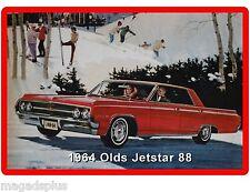 1964 Oldsmobile Jetstar 88 Car Auto Refrigerator / Tool Box Magnet