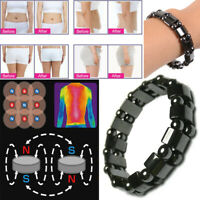 Magnetic Hematite Bracelet Pain Relief Energy Powerful Elastic G3