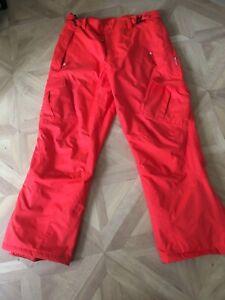 Mountain Warehouse Orange Ski Pants Size XL