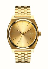 Unisex Watch A045 511 Nixon Time Teller All Gold 100 Authentic