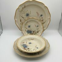 YOUR CHOICE~MIKASA BLUE DAISIES~BY THE PIECE~DINNERWARE~OVEN TO TABLE JAPAN VTG