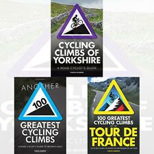 Simon Warren Collection 3 Books Set Cycling Climbs of Yorkshire,100 Greatest
