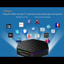 T95Z Plus 4K Smart TV Box Amlogic S912 OctaCore Android 6.0 2G+16G Wifi Streamer