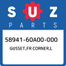 58941-60A00-000 Suzuki Gusset,fr corner,l 5894160A00000, New Genuine OEM Part