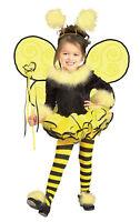 Bumblebee Child Girls Costume Yellow Swirl Wings Halloween Fancy Dress Rubies