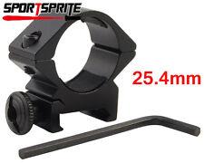 """1"""" Scope Holder Ring mount for 25.4mm Surefire Streamlight Olight LED flashlight"""
