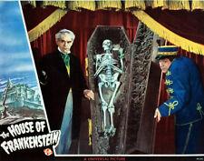 "House of Frankenstein Poster Replica Print 14 x 11"""