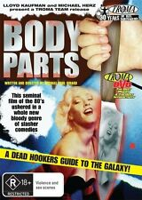 Body Parts (DVD, 2010) * Troma * + Extra * Priced to Clear *