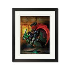 The Legend of Zelda Ocarina Of Time Combat Poster Print