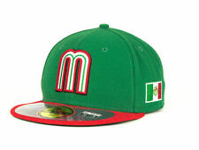 Official 2013 WBC Mexico World Baseball Classic Fitted Hat Cap New Era