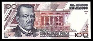 Banco de Mexico 100 Nuevos Pesos 31-JUL-1992 Series A, P-98. UNC. A0004799