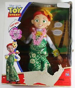 "Disney Pixar Toy Story 15"" Jessie Talking Figure Hawaiian Vacation TOYS R US NEW"