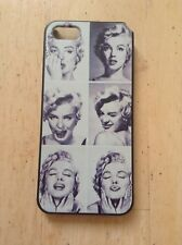 Apple iPhone 4 Case Marilyn Monroe White, Grey & Black Back Cover
