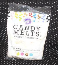 Wilton Candy Melts 12 oz. Package Bright White Vanilla SB4