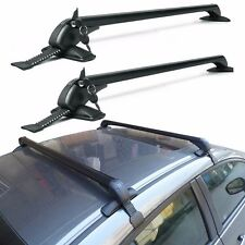 109cm Cars Black Anti Theft Lock Car Roof Bars Without Rails Lockable Rack