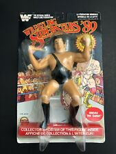 WWF LJN Wrestling Superstars Andre The Giant MOC LJN Black Card Superstars 89