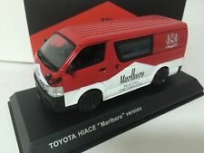 1/43 Kyosho Toyota Hiace 2012 Special TOBACCOS Version Red