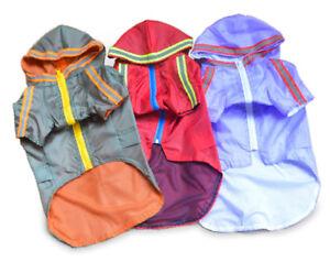 Chihuahua Yorkie Dog Coats Clothes Safety High Visibility Raincoat Jacket UK