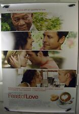 "Feast of Love - 27""x40"" 2 Sided ORIGINAL Movie Poster - Morgan Freeman"