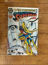DC Superman #91 The Fall Of Metropolis! 1994