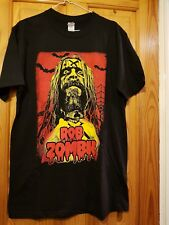 Rob Zombie UNUSUAL '3 Days in Hell Tour' T-Shirt 2016 Kentish Town Forum UNWORN*