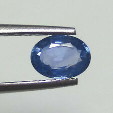 1.12CT NATURAL CEYLON BLUE SAPPHIRE ~ GOOD COLOR GOOD LUSTER ONLY HEATED GEM