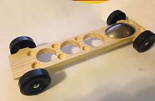 Winning Rail Riding Rider Pinewood Derby Canopy Car #5 Full Kit Tungsten Canopy